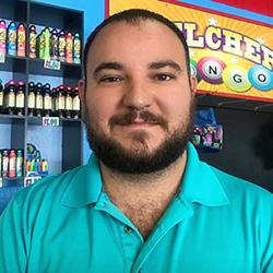 Joey - Belcher Bingo Member in charge