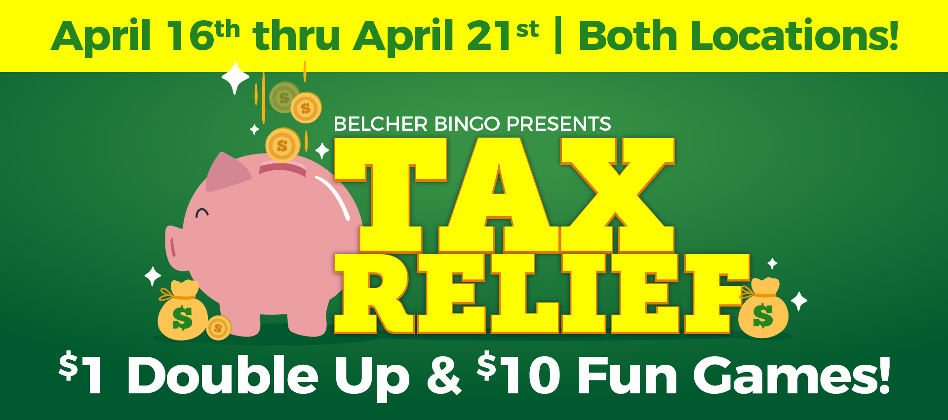Belcher Bingo - Tax Relief