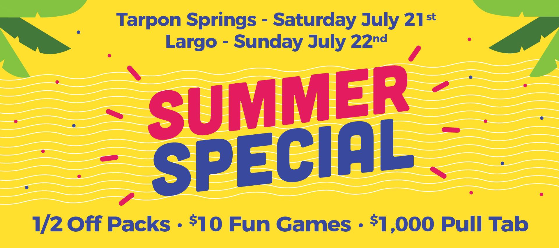 Belcher Bingo-Summer Special