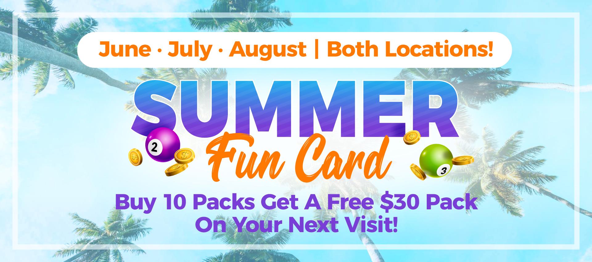 Belcher Bingo Summer Fun Card